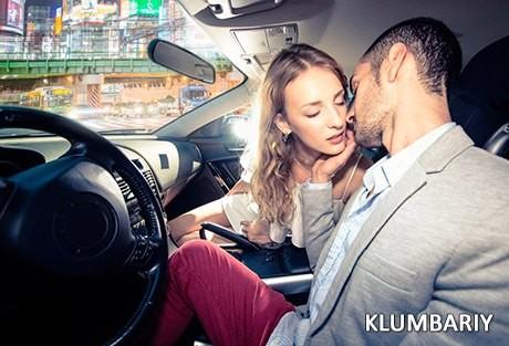 Секс на свидание в машине
