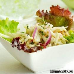 Салат из капусты кольраби рецепты фото
